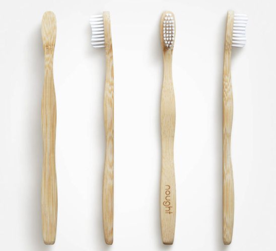 the bamboo toothbrush is very compact