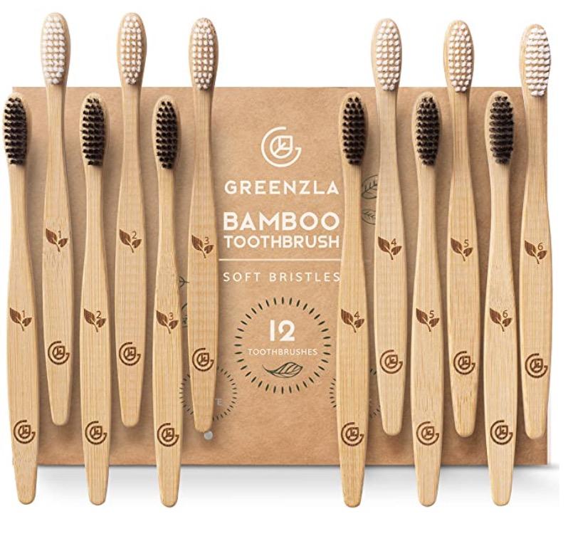 GREENZLA Toothbrush (12 Pack)