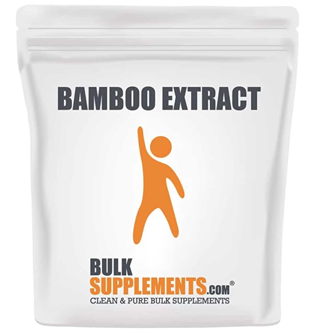 Bulksupplements Bamboo Extract Powder Silica Supplements
