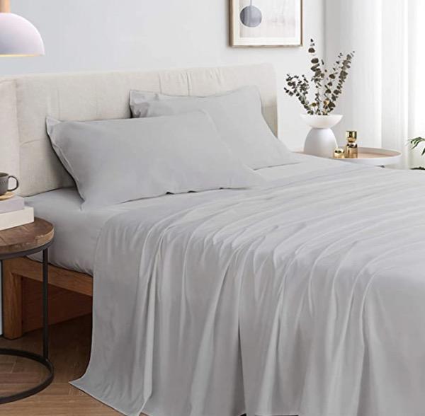 Zerohub 100% Bamboo Bed Sheets Set