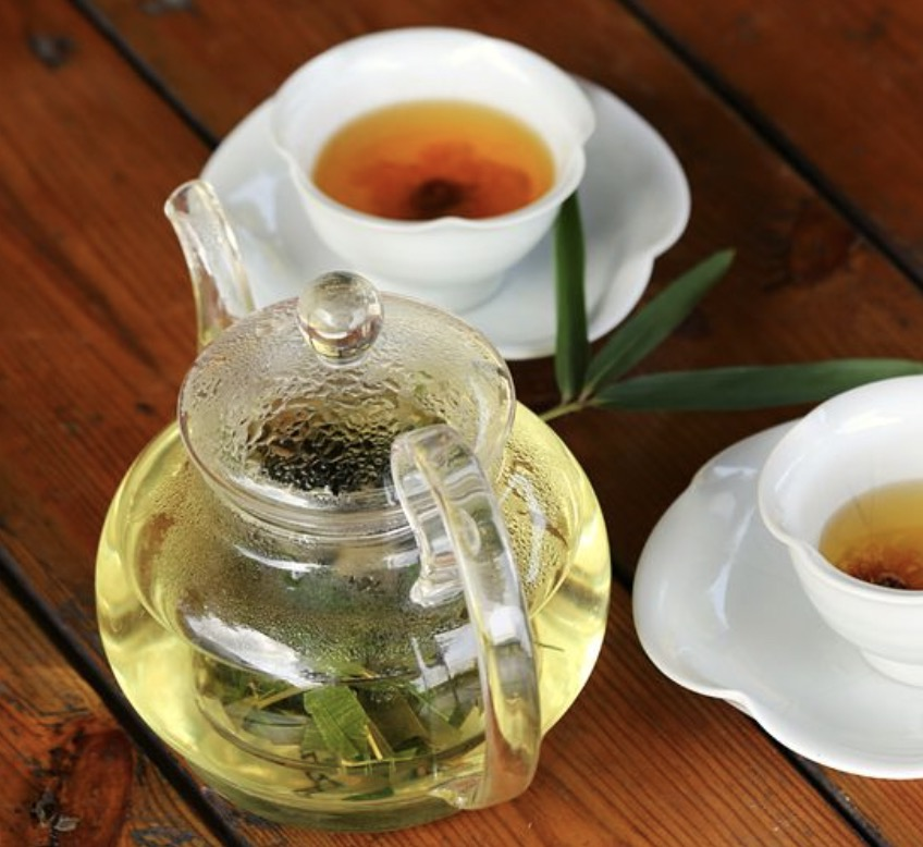 Drinking bamboo tea leaves will benefit your health, skin, and hair.