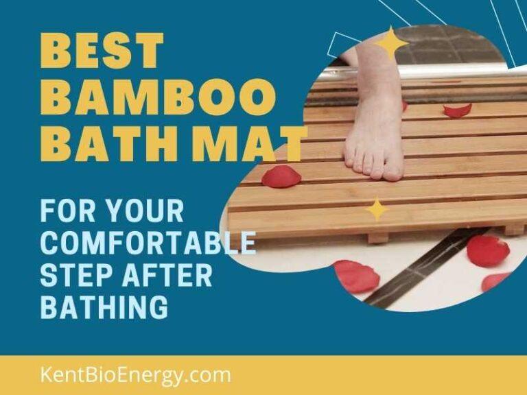 Best Bamboo Bath Mat