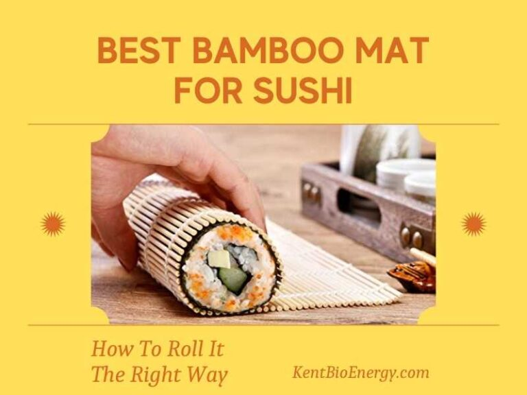 Best Bamboo Mat For Sushi