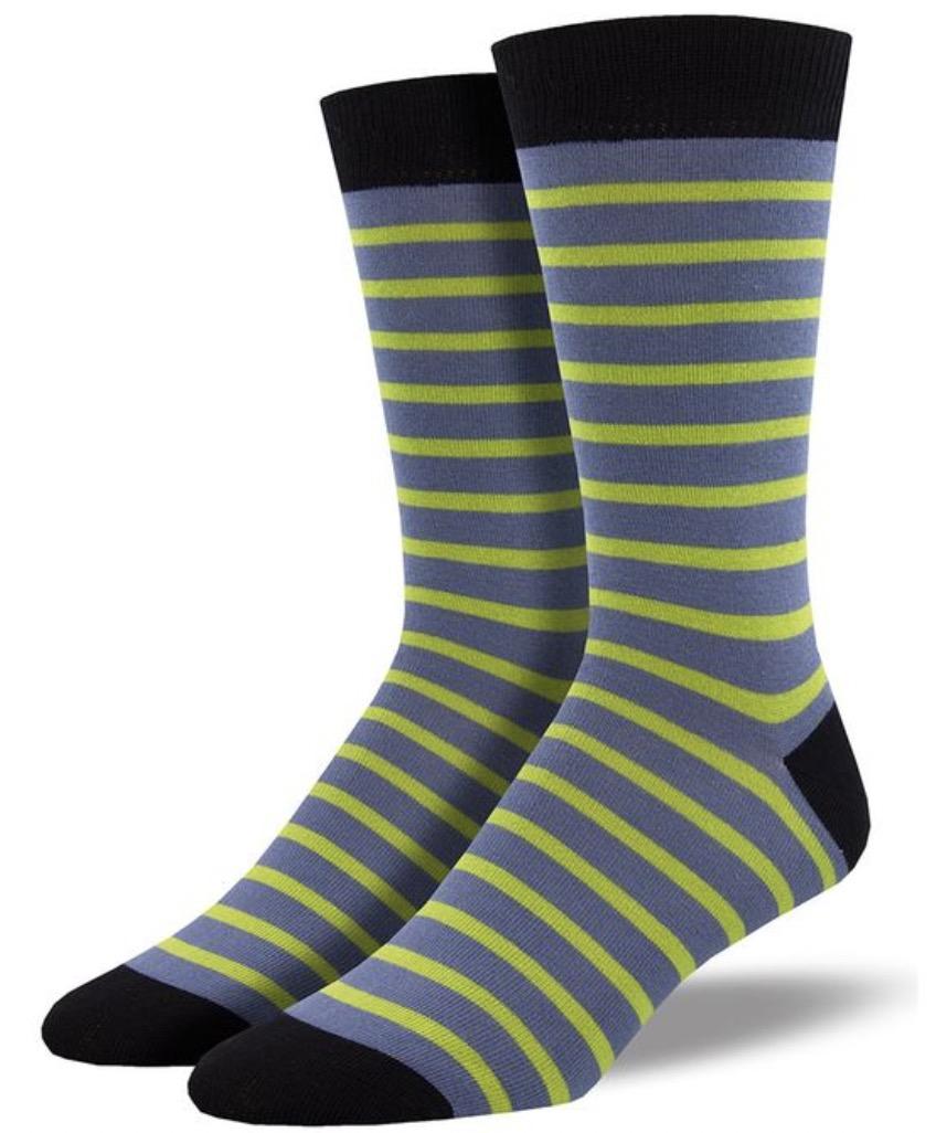 Sailor Stripes Bamboo Socks For Men