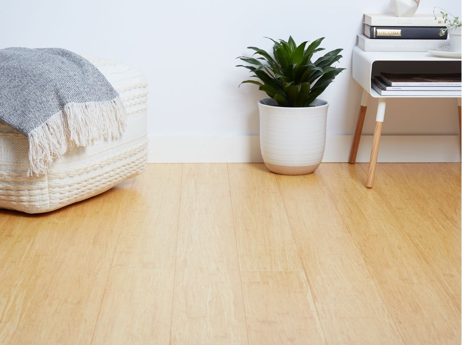 Bamboo could make your home more elegant.