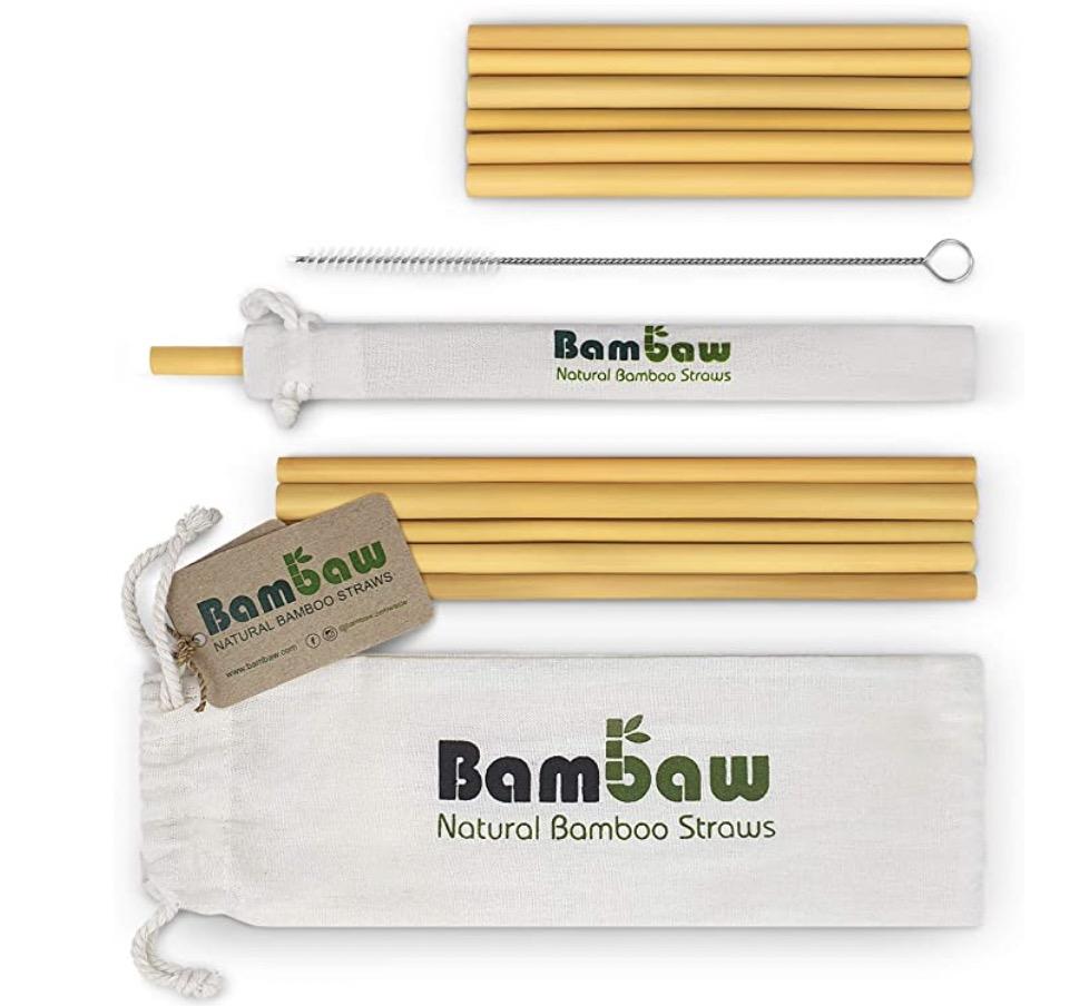 Bambaw Bamboo Straws