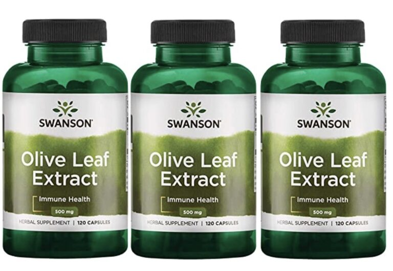 Swanson Olive Leaf Extract