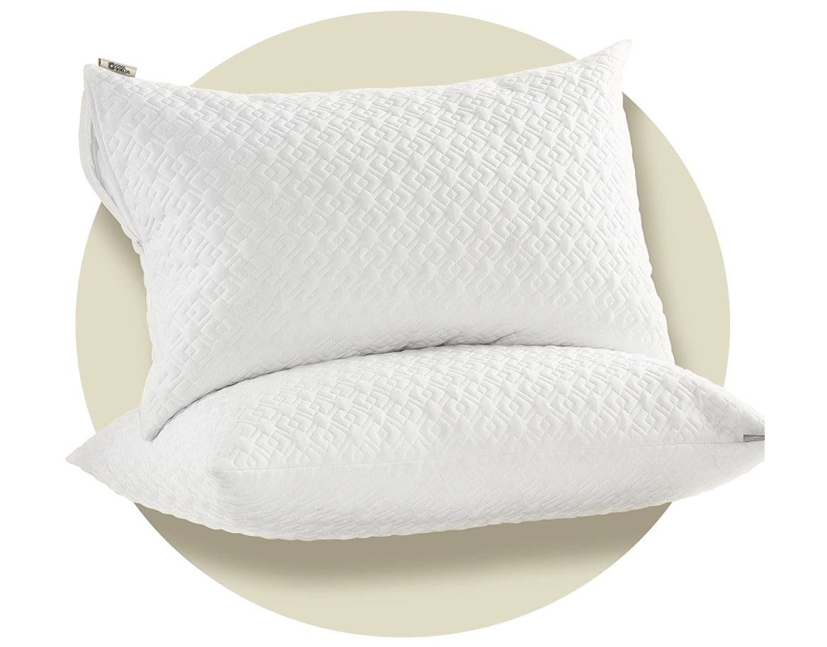 CoolShields Silky Waterproof Pillow Protectors with Zipper