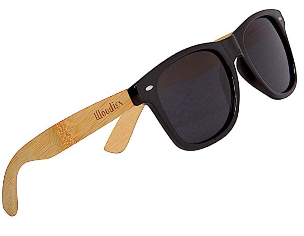 WOODIES Polarized Bamboo Wood Sunglasses