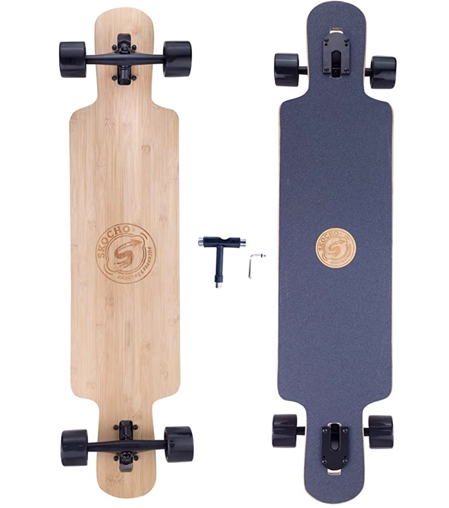 SKOCHO Bamboo Longboard