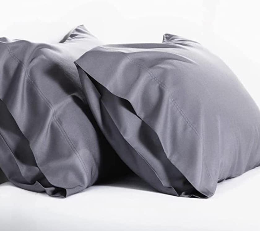 Bedsure - Bamboo Pillow Cases Queen Size Set