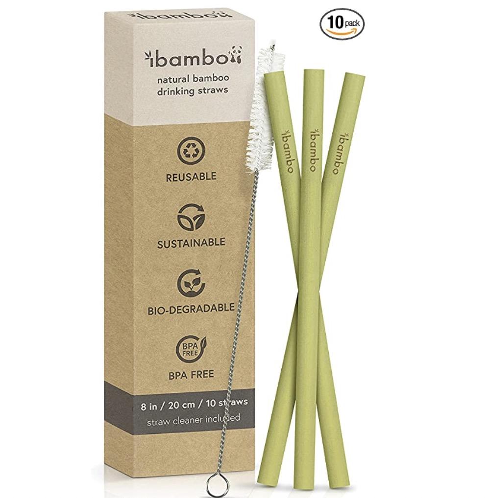Ibambo Bamboo Strawsv