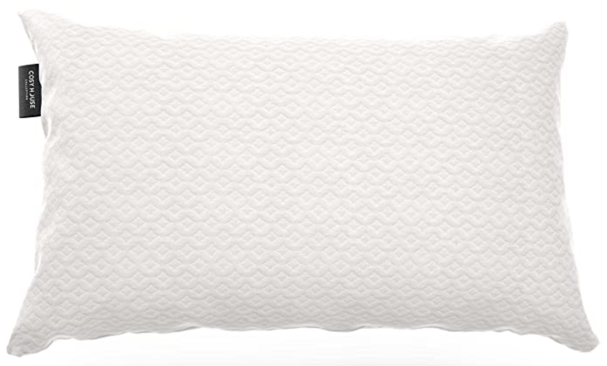 Cosy House Collection Luxury Bamboo Shredded Memory Foam Pillow