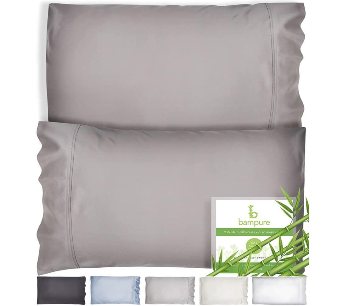 BAMPURE - Bamboo Pillowcase Queen Size