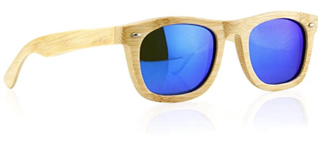 Polarized Bamboo Lightweight Wood Vintage Sunglasses