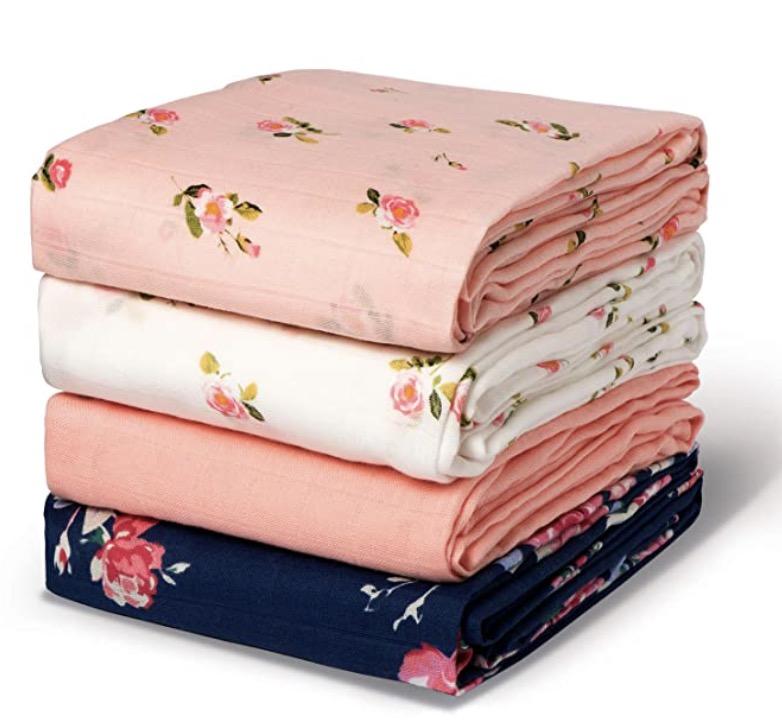 Momcozy Baby Swaddle Blanket