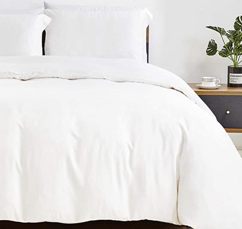 CozyLux 100% Organic Bamboo Duvet Cover Set