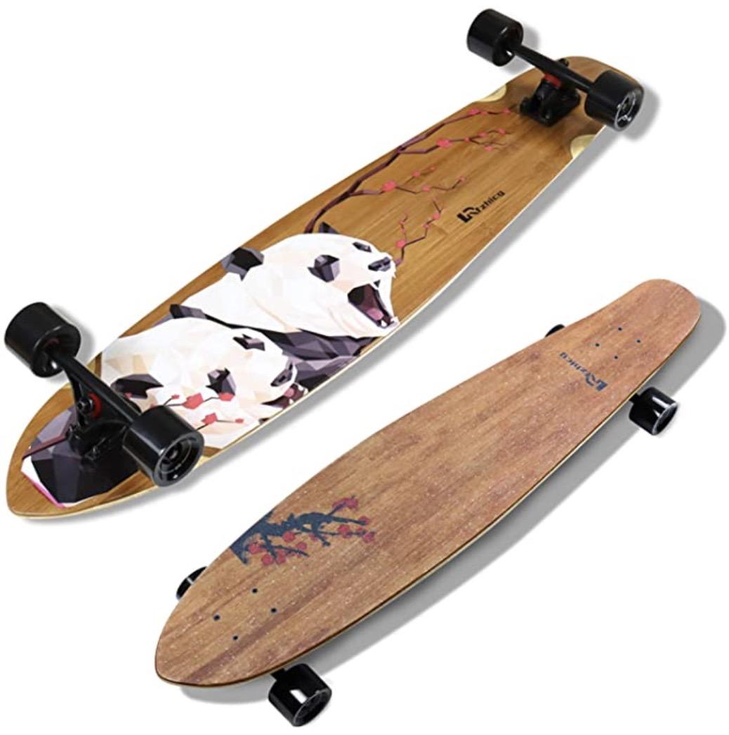 Rfzcg Bamboo Cruiser Longboard