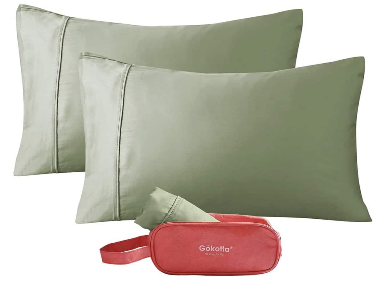 GOKOTTA Bamboo Pillow Cases King Size