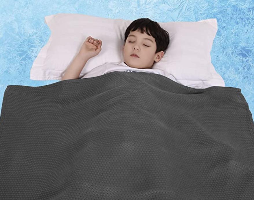 Lukeight Cooling Summer Blanket for Kid