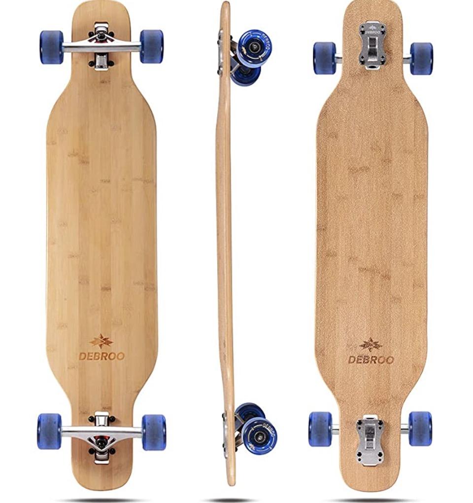 DEBROO Bamboo Longboard
