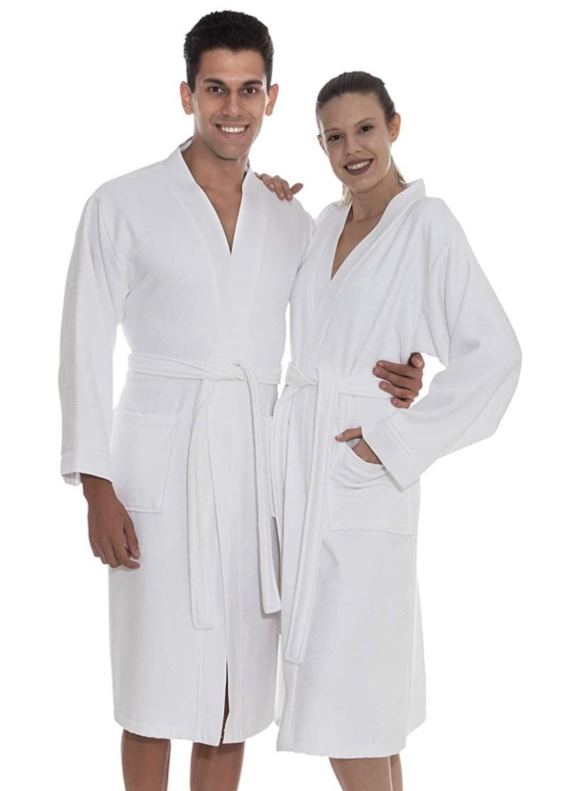 Ozan Premium Home Soft Shower Spa Bathrobe Unisex Bamboo