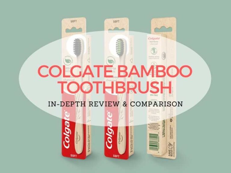 Colgate Bamboo Toothbrushes