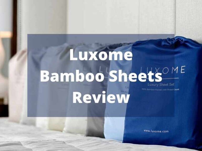 Luxome Bamboo Sheets Review