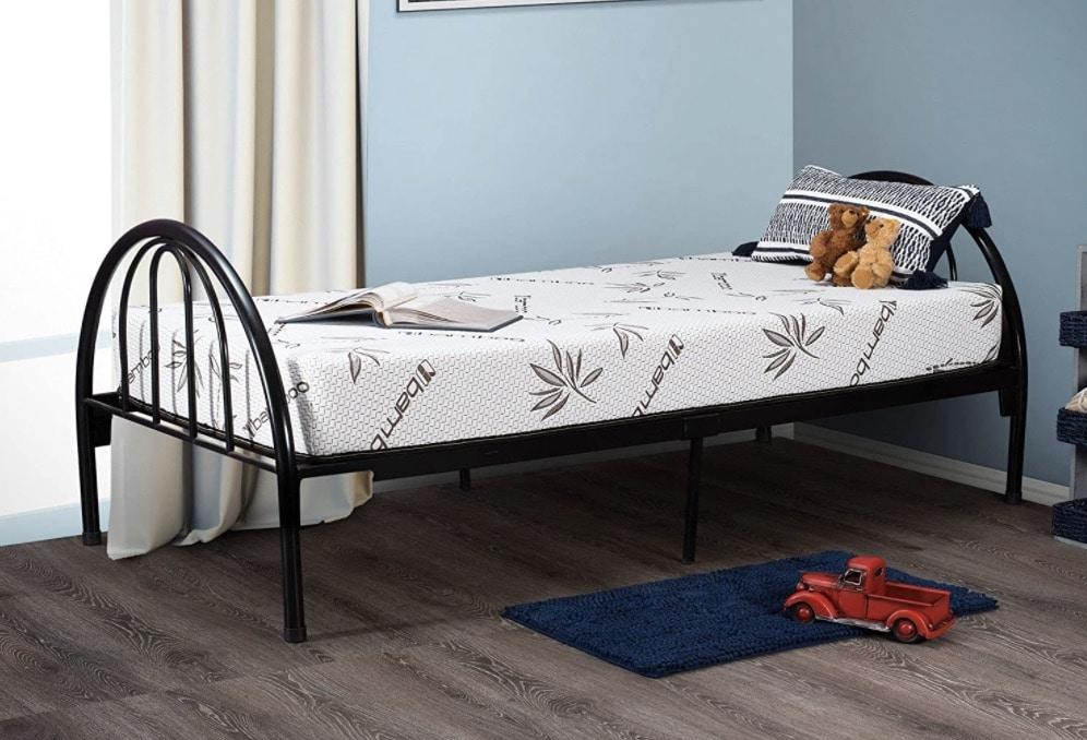 4 Customize Bed 8 Inch Gel Memory Foam Mattress